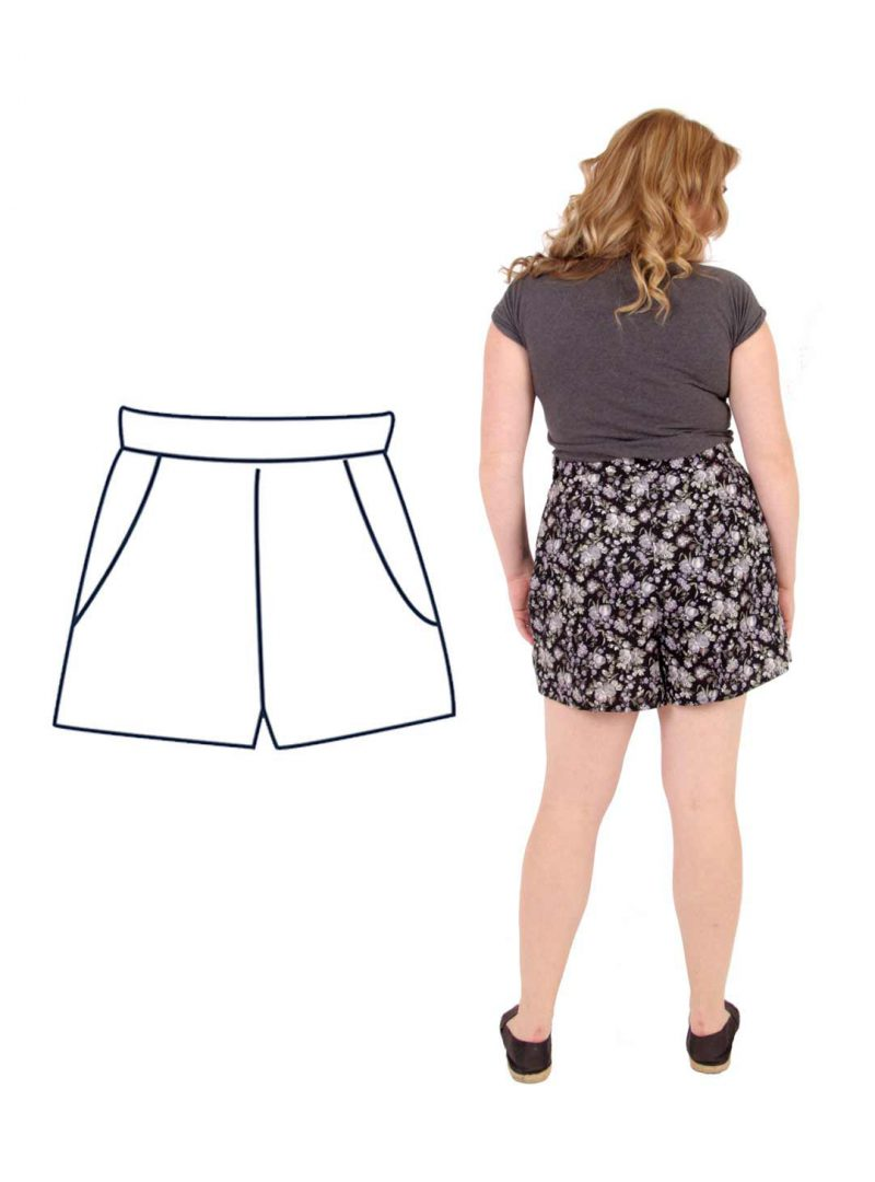 Design your own: High-Waisted Shorts