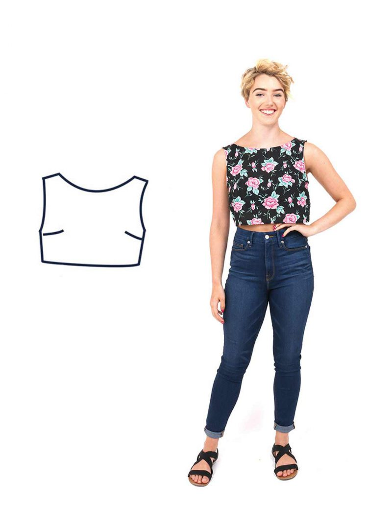 Design your own: Crop-top