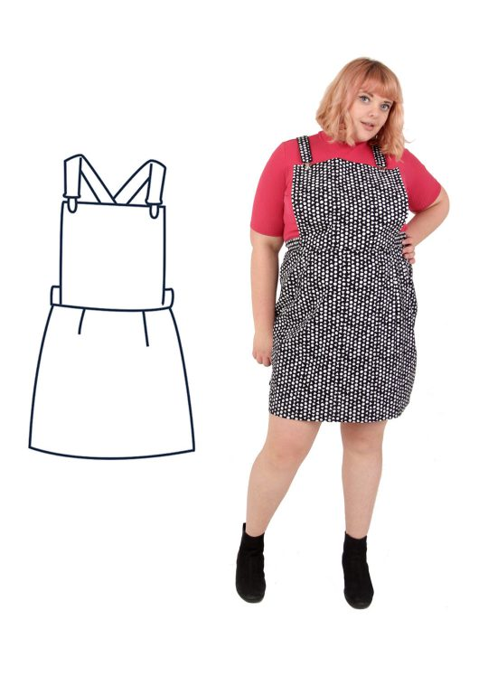 Design your own: Dungaree Mini Dress