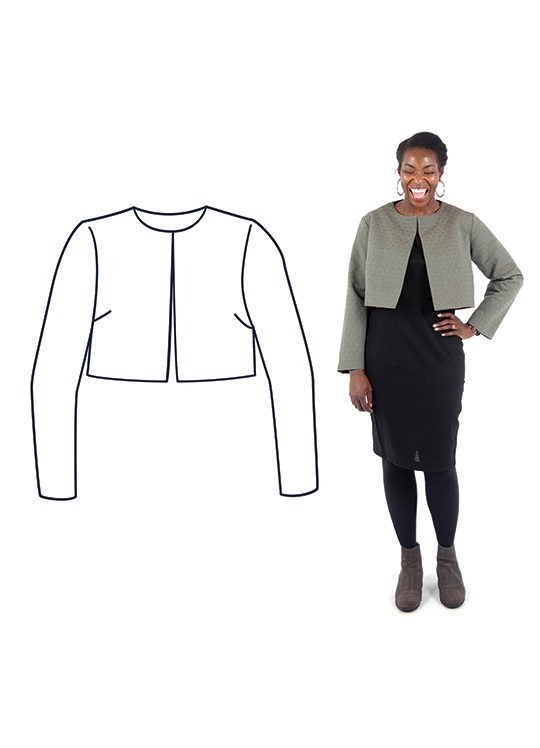 Design your own Cropped Jacket