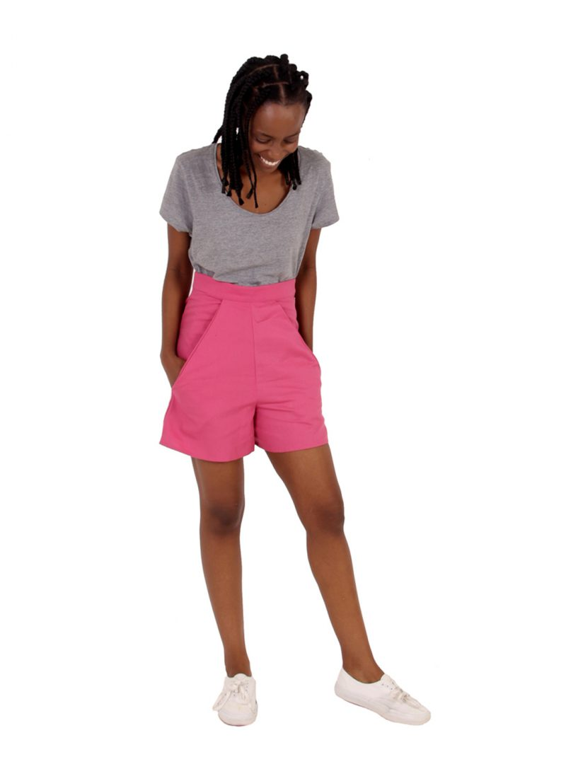Pink Shorts - 'Pretty in Pink' - UK 6-8