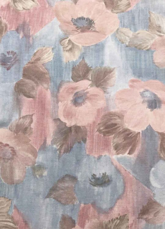 Pastel Abstract Floral Cotton-Mix #1005