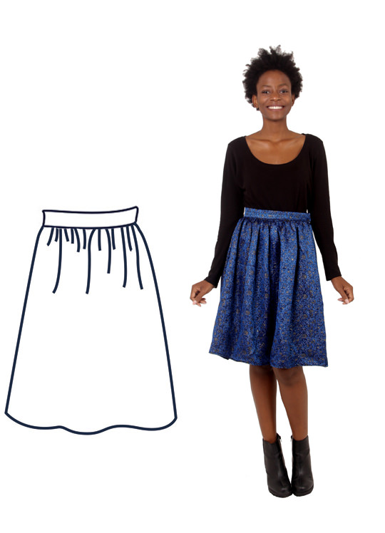 Design your own: Gathered Skirt