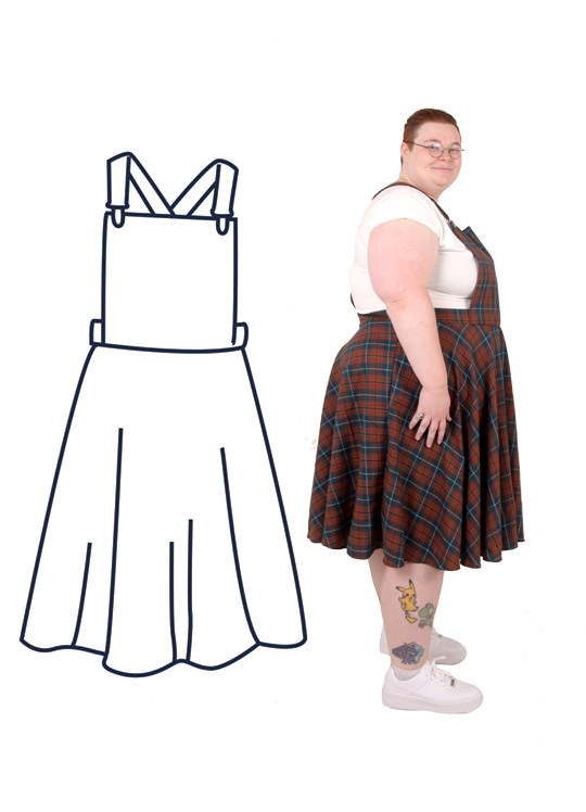 Design your own: Pinafore Dress