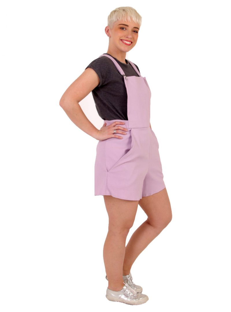 Lilac Playsuit - 'Lilac Love' - UK 12-14