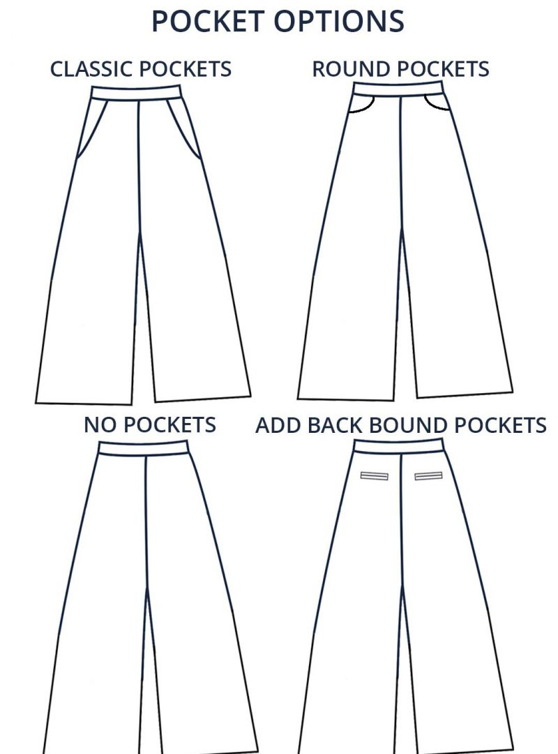 Design your own: Wide Leg Trousers