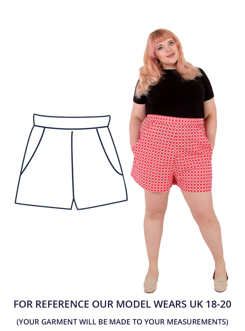 Design your own: High Waisted Shorts UK 18-20