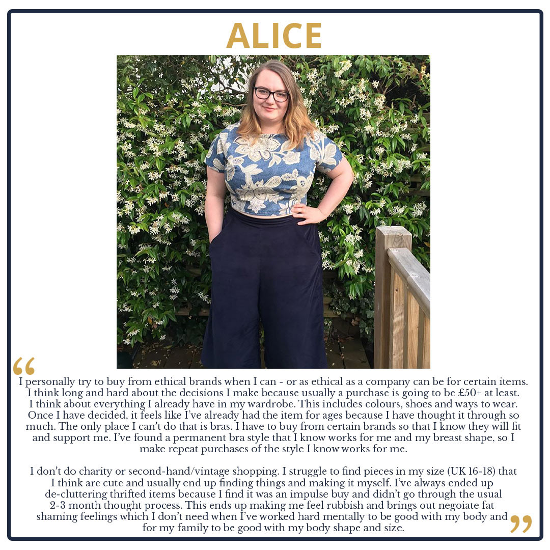Tips from The Team! We Look at our Wardrobes and Shopping Habits Alice