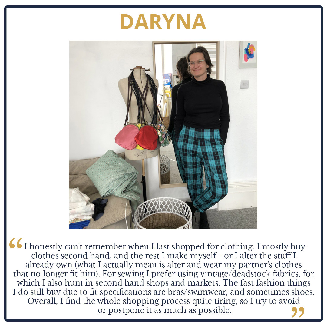 Tips from The Team! We Look at our Wardrobes and Shopping Habits Daryna