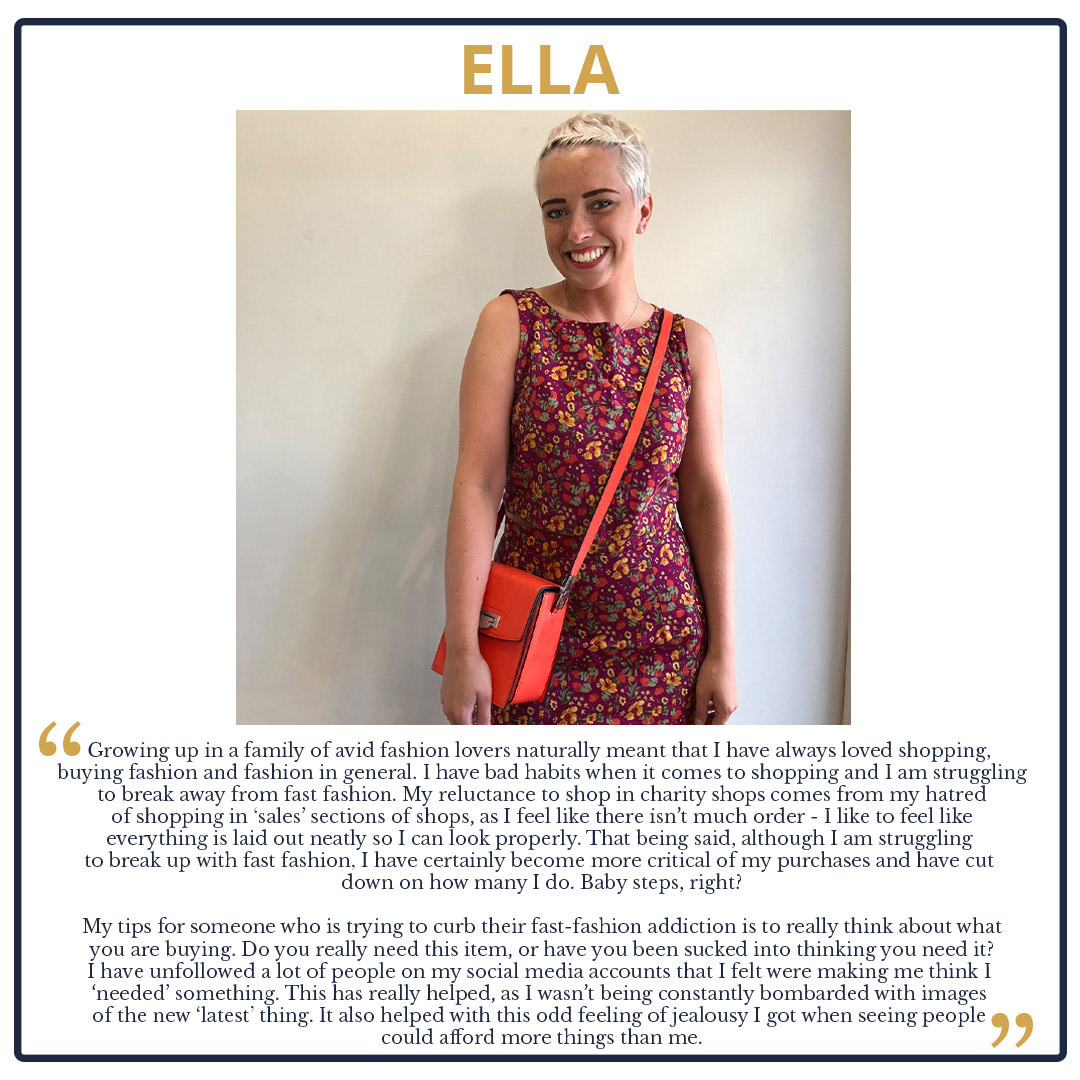 Tips from The Team! We Look at our Wardrobes and Shopping Habits Ella