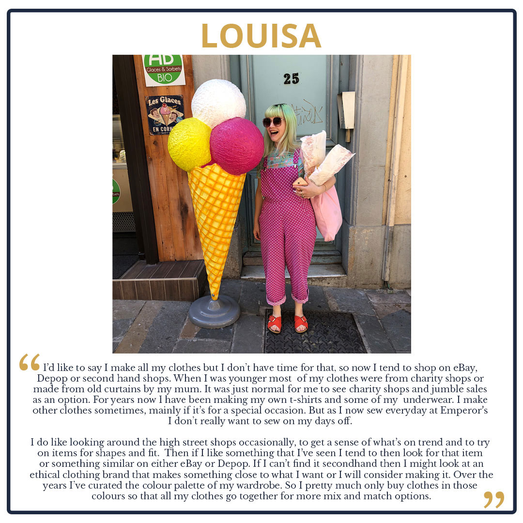 Tips from The Team! We Look at our Wardrobes and Shopping Habits Louisa