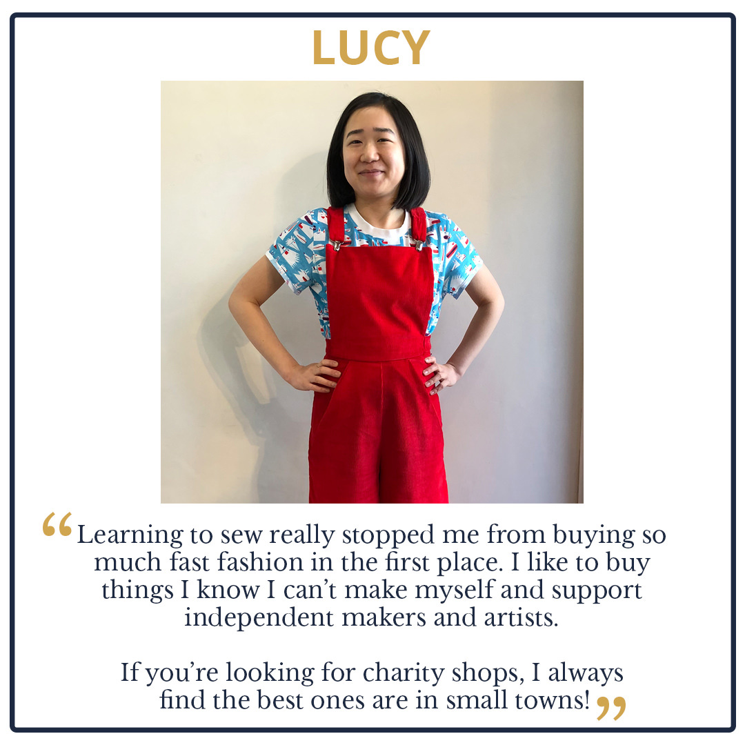Tips from The Team! We Look at our Wardrobes and Shopping Habits Lucy