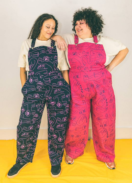 Design your own: YUK FUN x Emperor's Collaboration Dora Dungarees